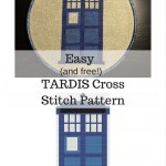 TARDIS Cross Stitch Pattern