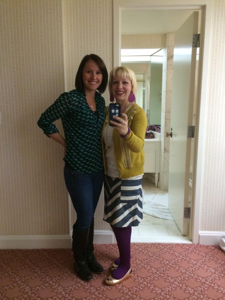 Abby and Cori at SNAP!