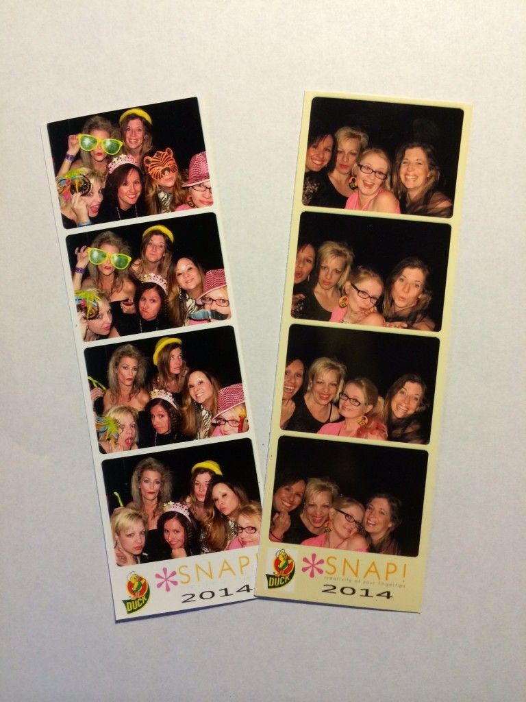 80s Prom Photobooth at Snap