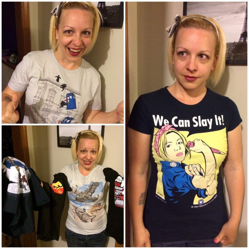 Abby's Fangirl Shirts
