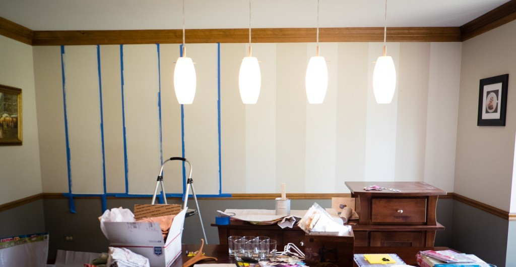 dining room stripes