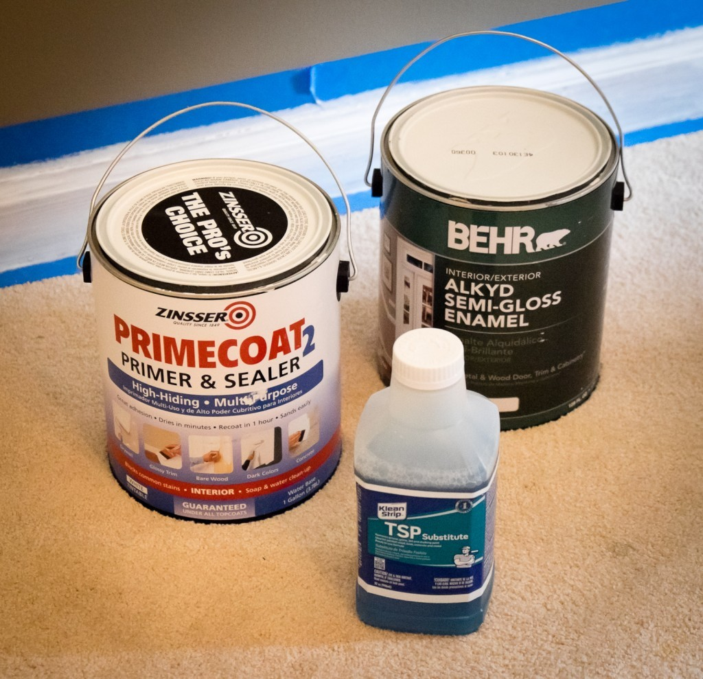 trim painting supplies