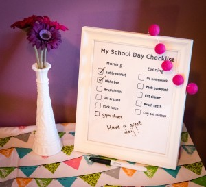 My School Day Checklist