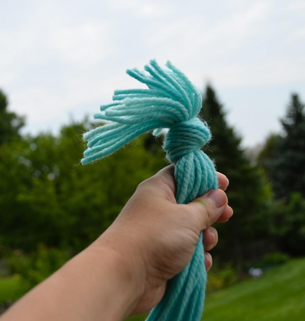 knot in yarn