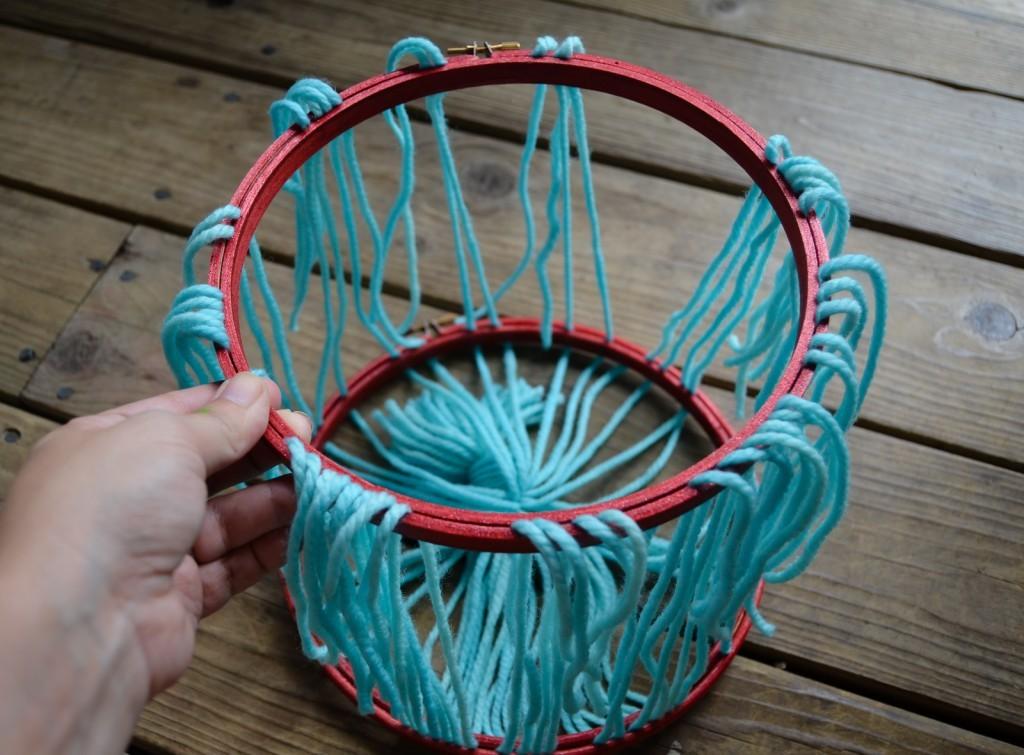 second hoop