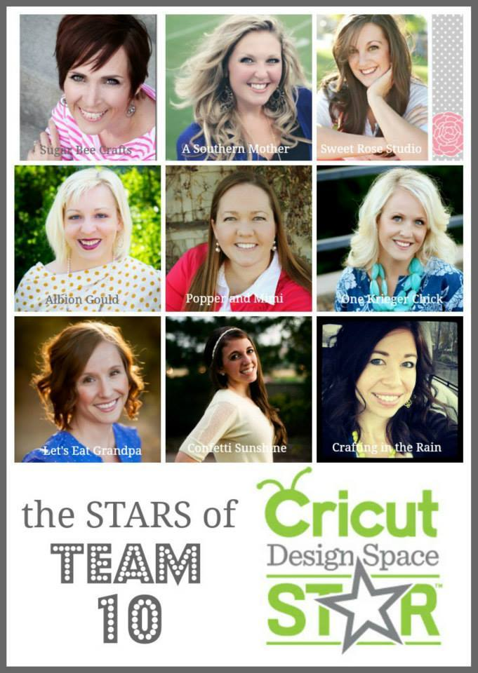 Cricut Design Space Star Team 10
