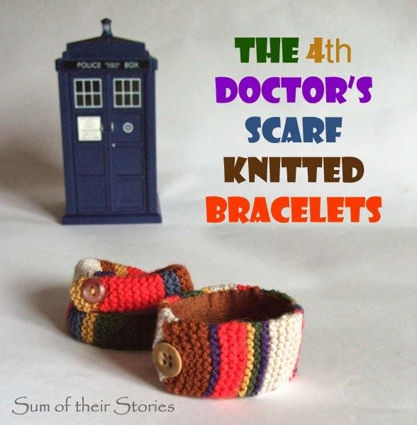 4th doctors scarf bracelets