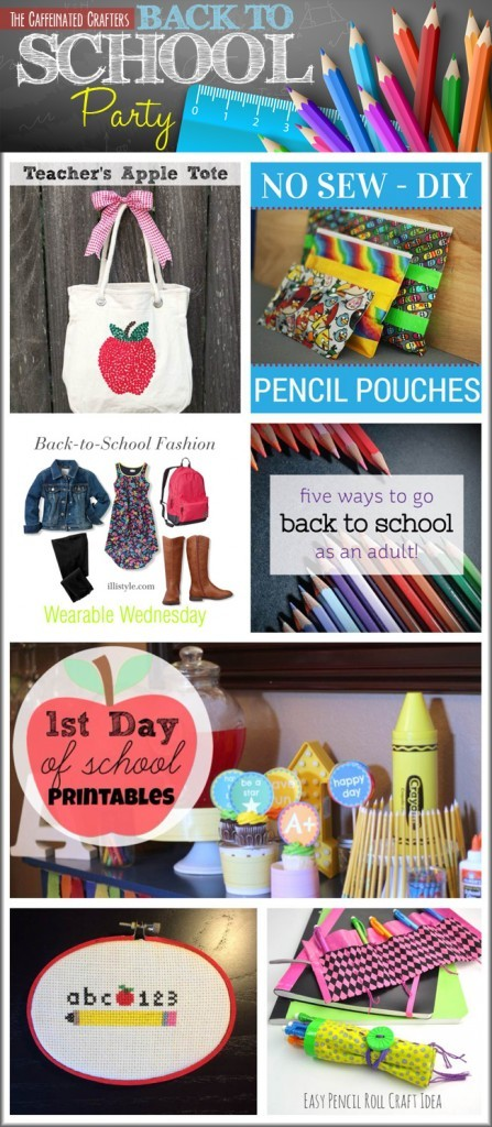 Back To School Party, Fashion and Craft Ideas
