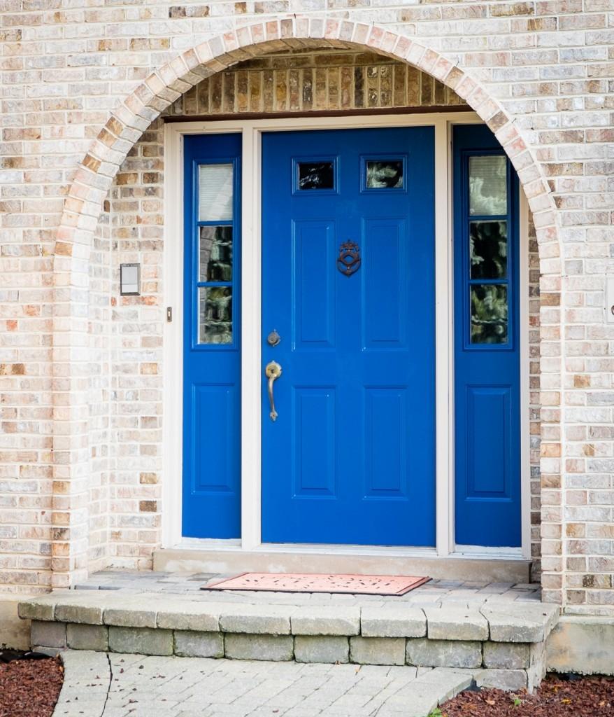 """Front Door in """"Calm"""""""