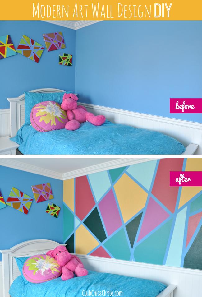 Tween-bedroom-modern-art-redesign-before-and-after