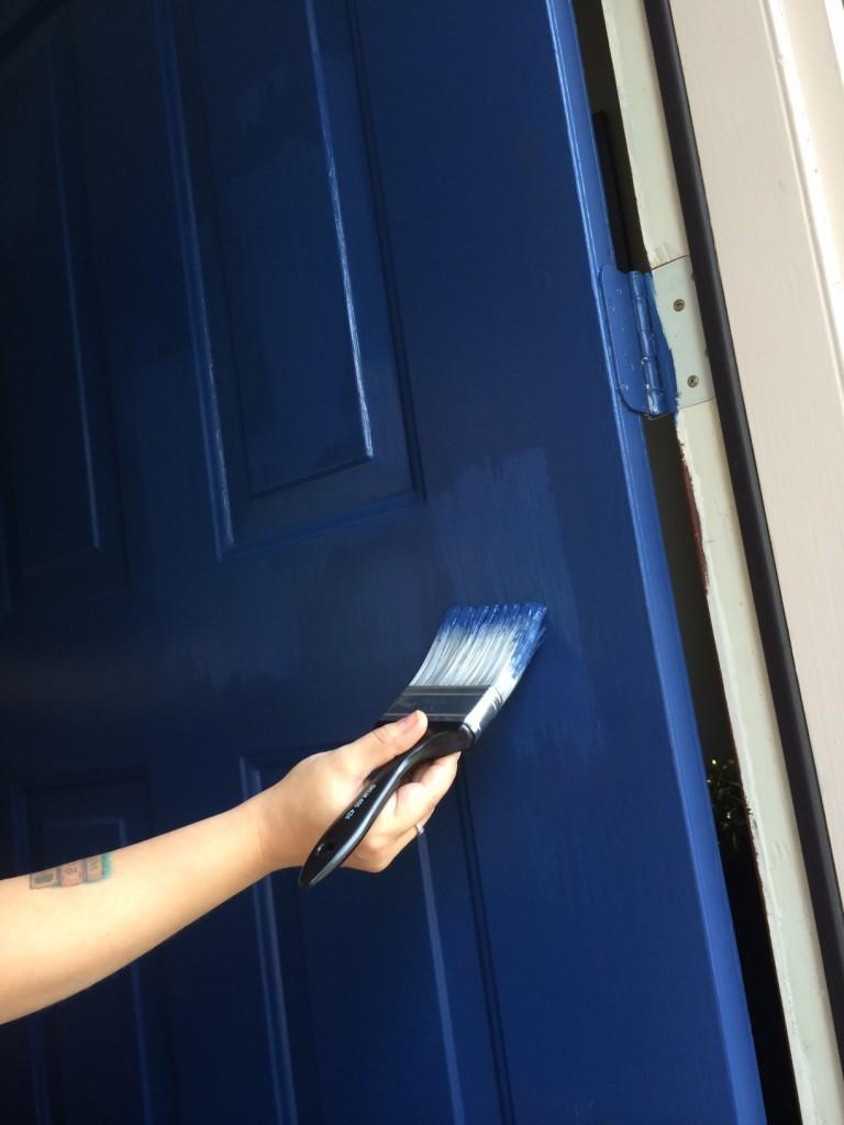 painting the front door