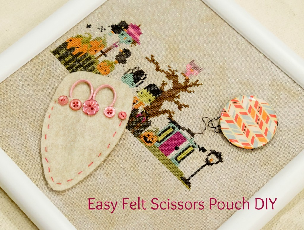 Felt Scissors Pouch DIY by Albion Gould