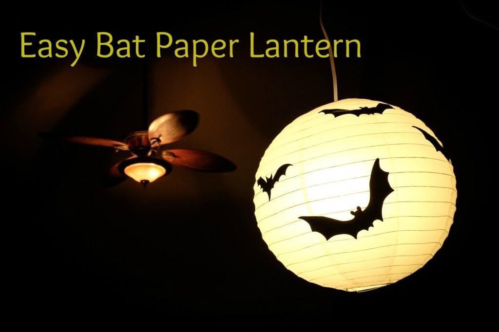Bat Paper Lantern