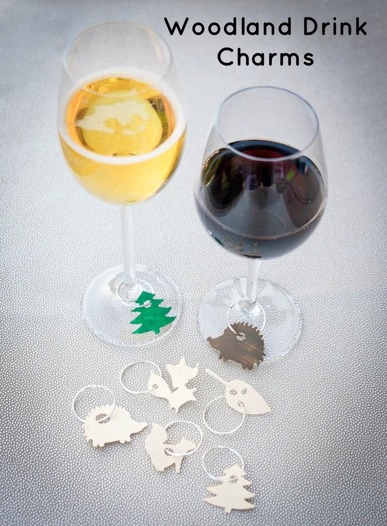 Woodland Drink Charms DIY