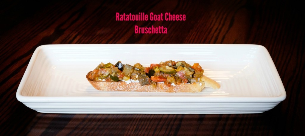 ratatouille goat cheese bruschetta