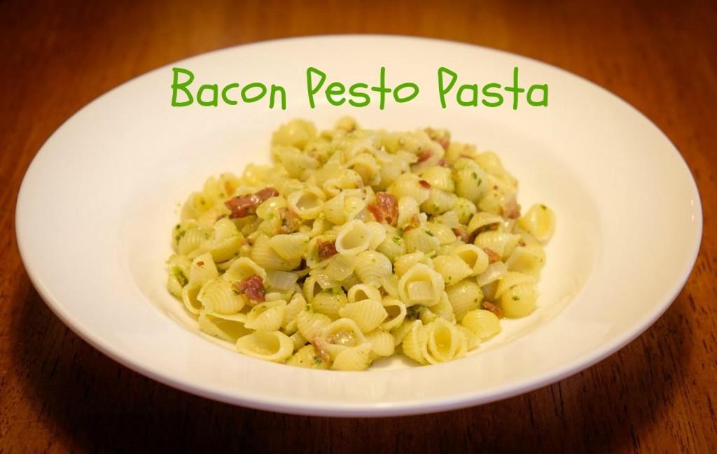 Bacon Pesto Pasta
