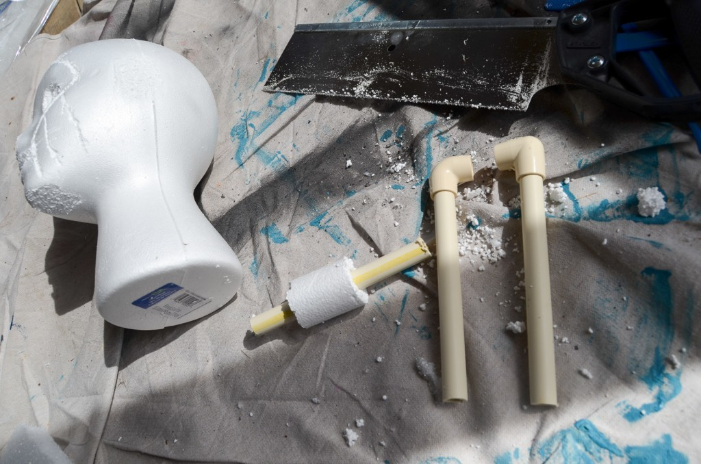 cut pipe pieces