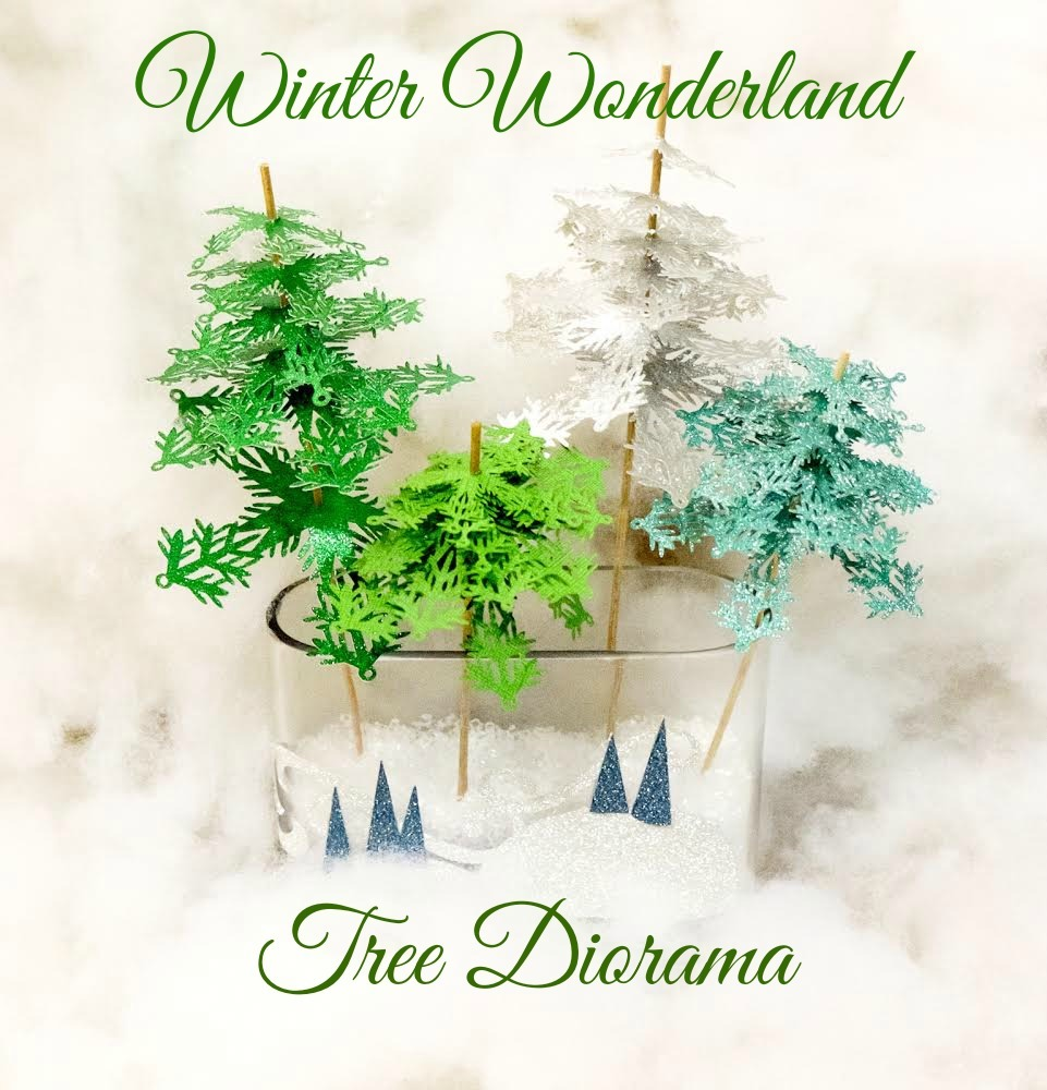 Winter Wonderland Tree Diorama