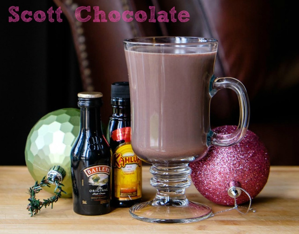 Scott Chocolate (hot chocolate cocktail)