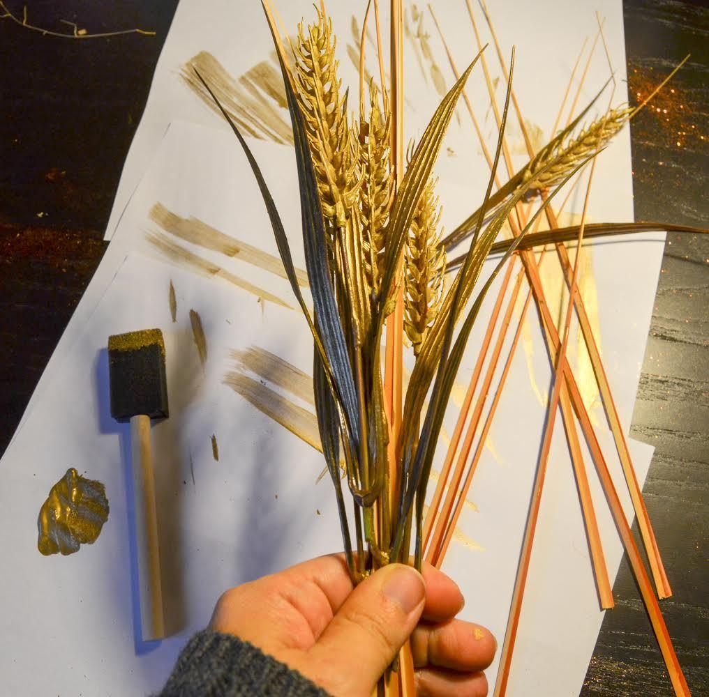 bundle the wheat