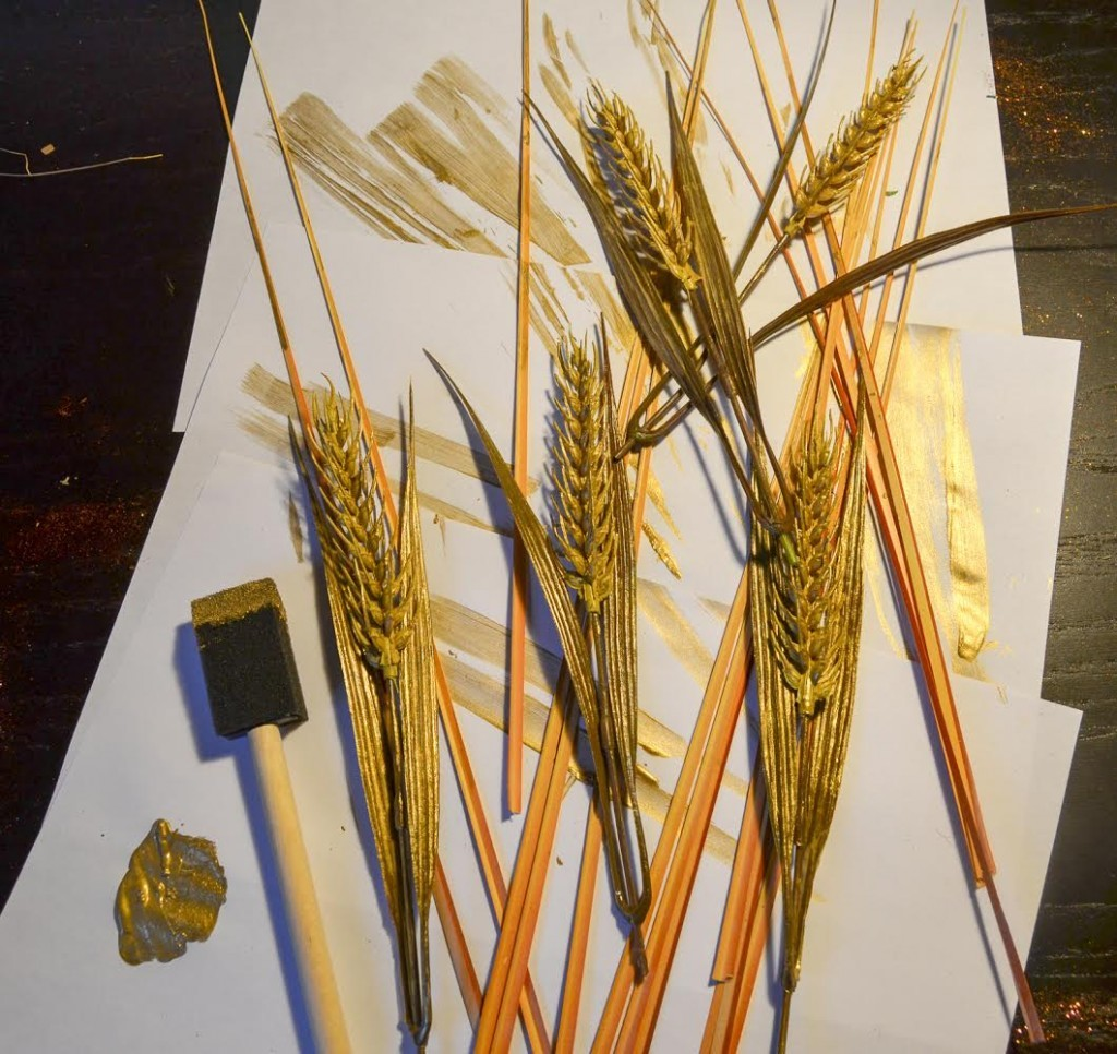 paint the wheat