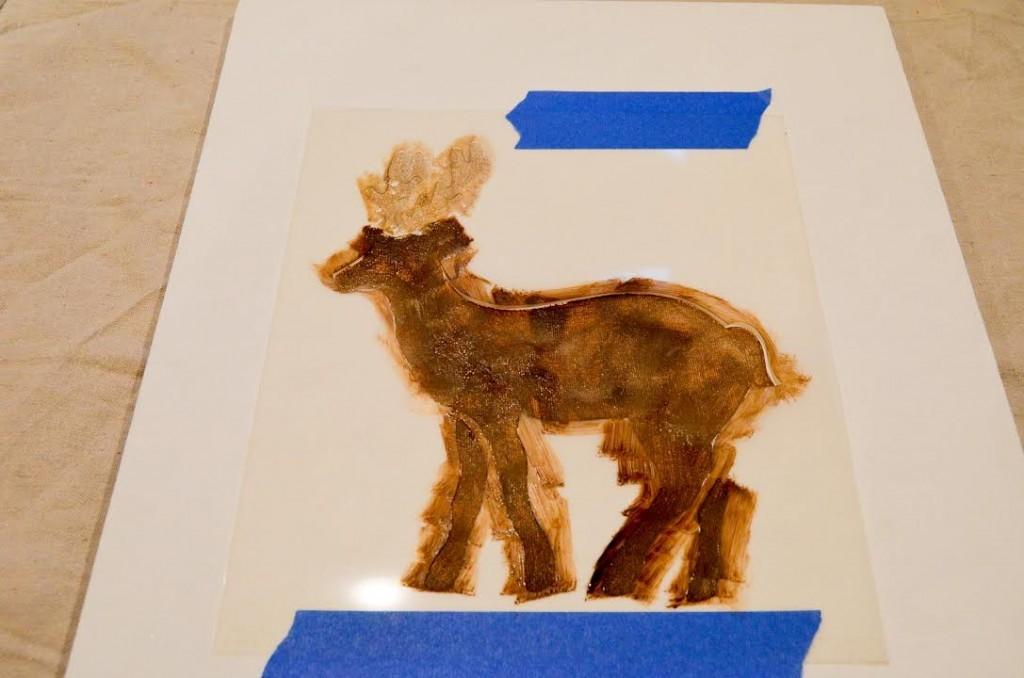paint the deer