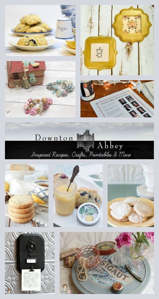 Downton Abbey Inspired Recipes, Crafts, Printables, & More