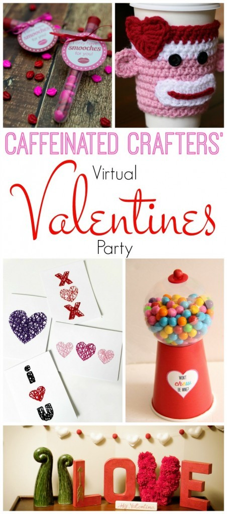 Caffeinated Crafters Virtual Valentine's Day Party