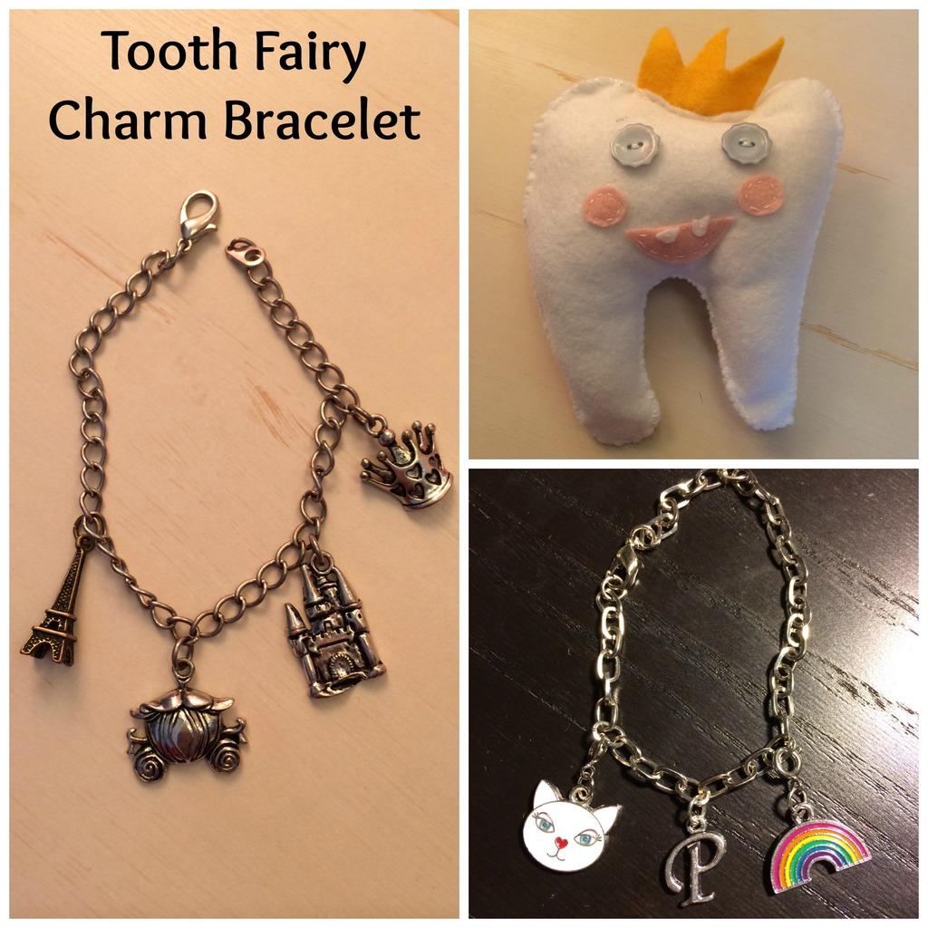 Tooth Fairy Charm Bracelet