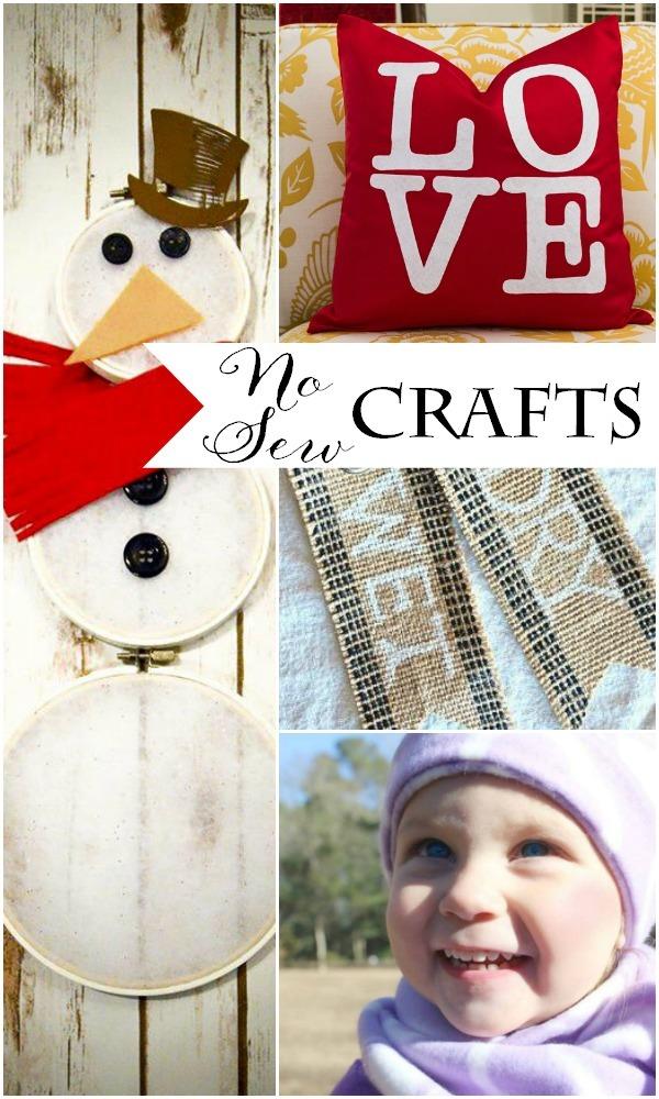 No-Sew Winter Crafts