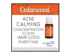 Cedarwood - Healthier Oil the Thyme