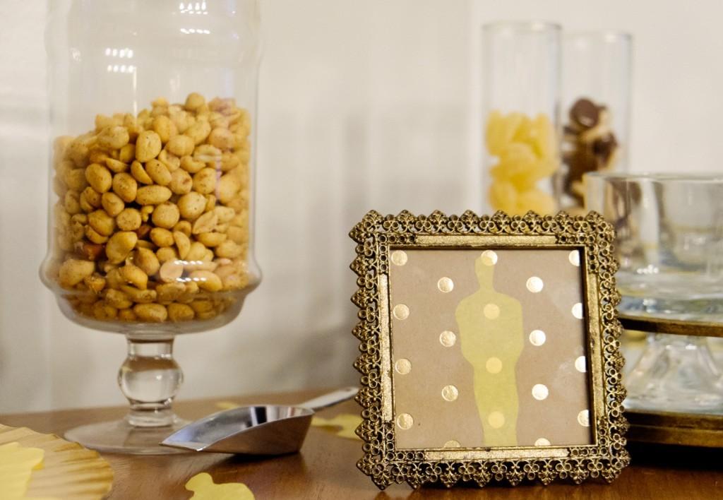 Oscar Party Snack Bar with World Market