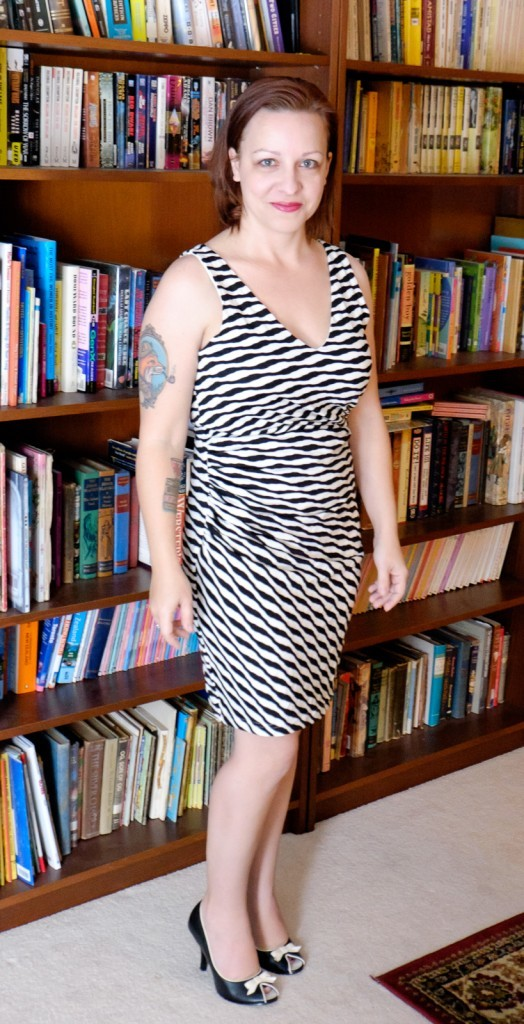 Ernesto Striped Fitted Dress