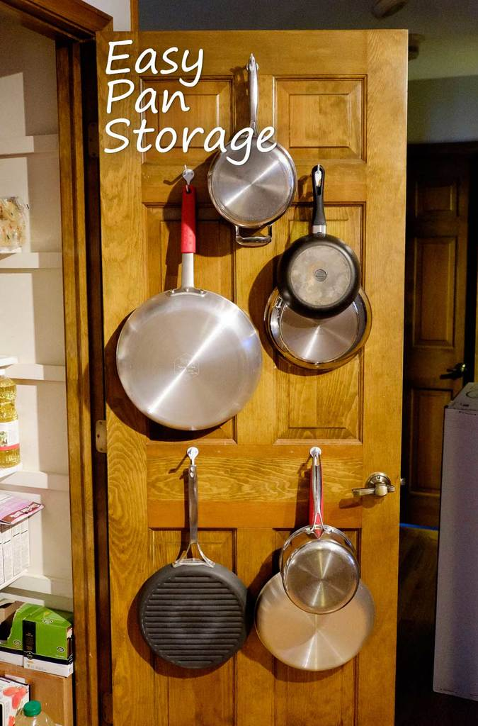 Easy Pan Storage