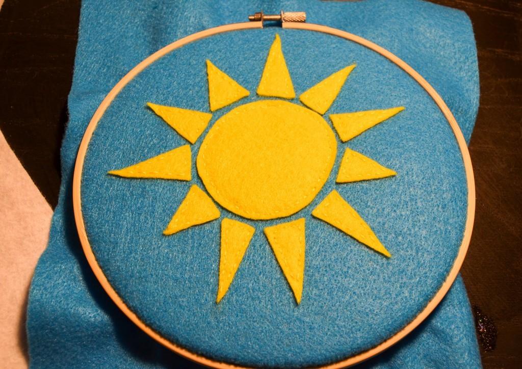 stitch the sun