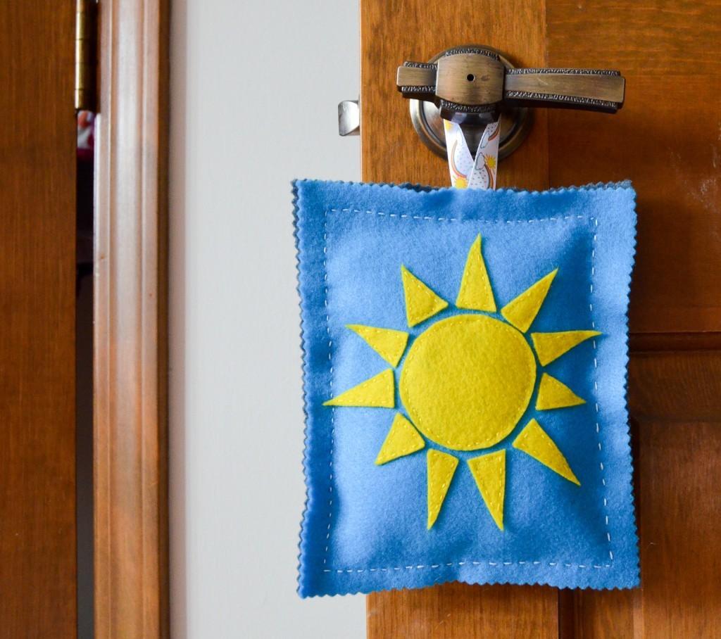 Night and Day Door Hanger