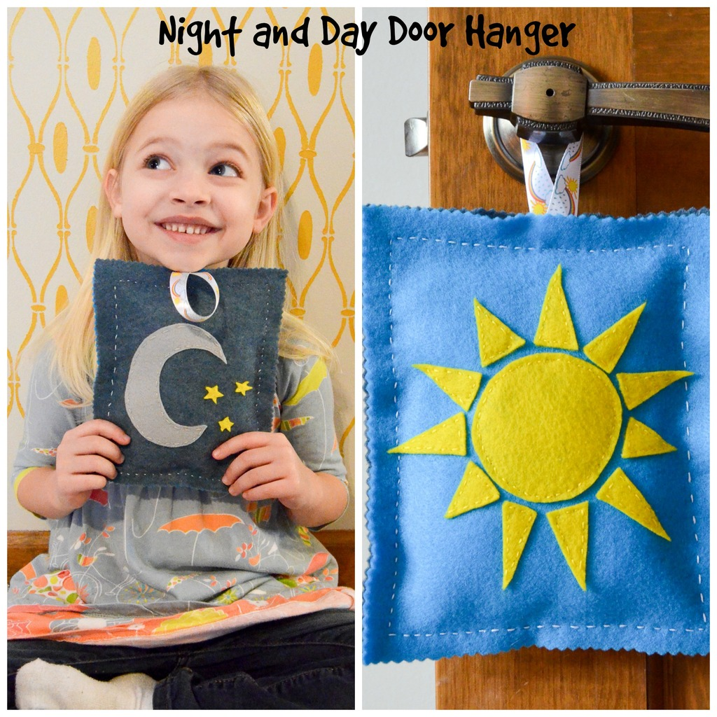 Night and Day Door Hanger