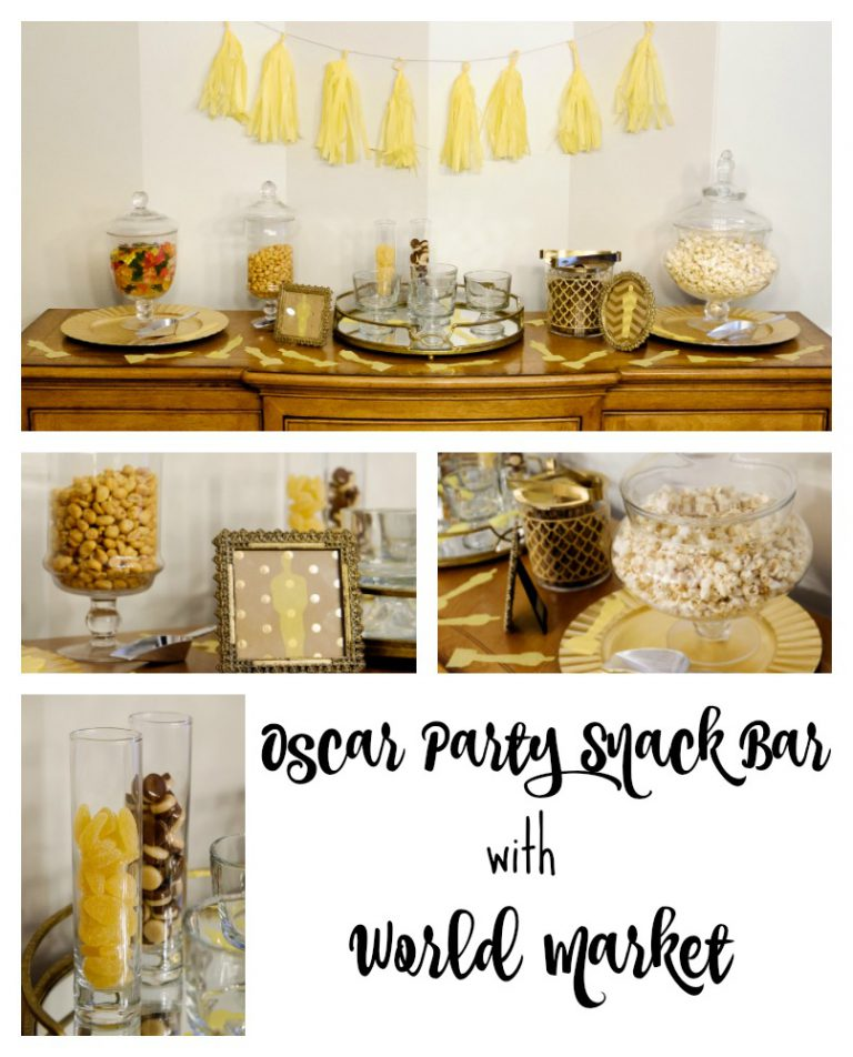 Oscar Party Snack Bar with World Market