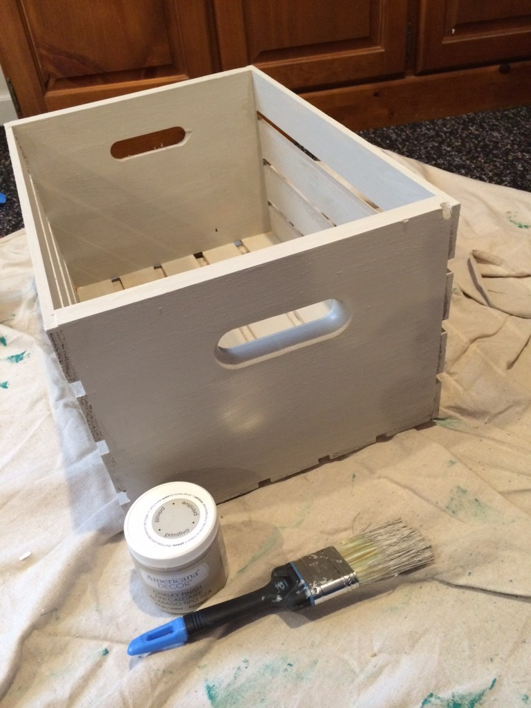 paint the crate