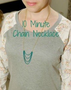 10 Minute Chain Necklace