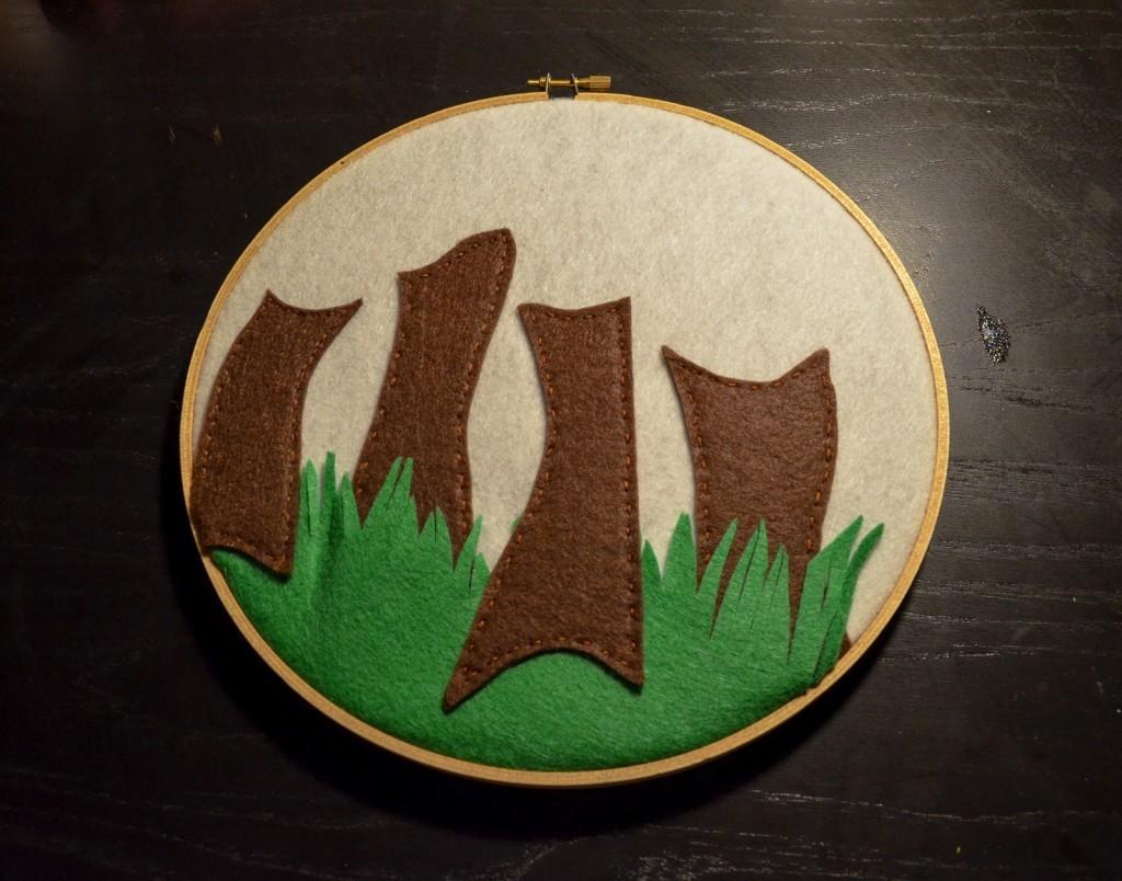 stitch the trees