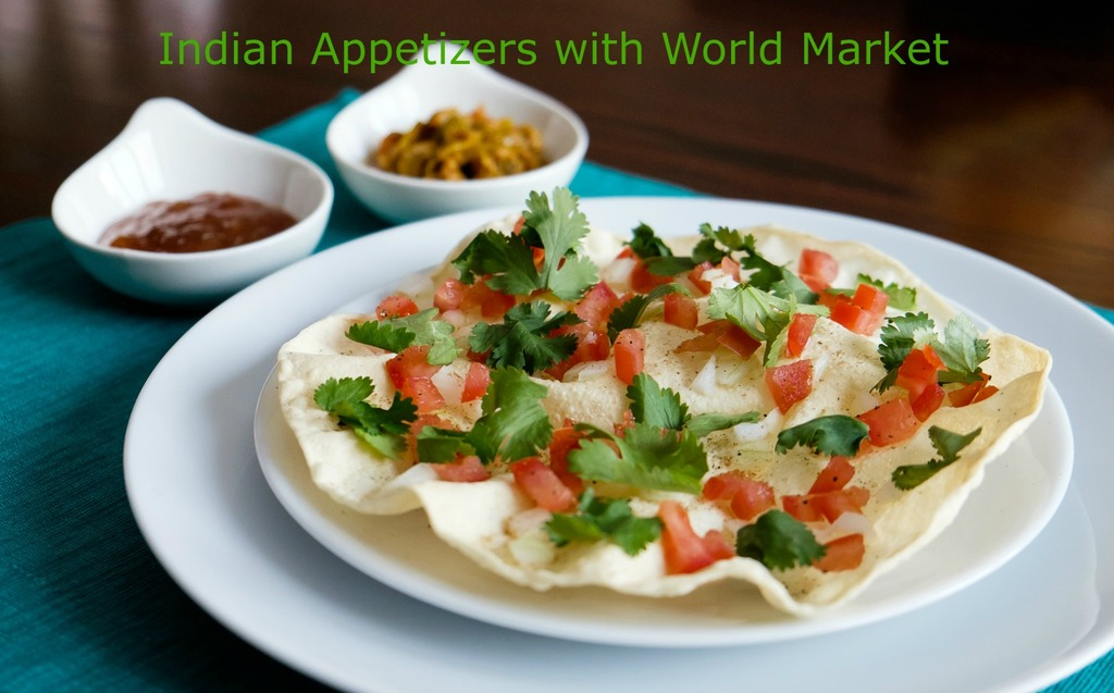 Masala Papad Indian Appetizer with World Market