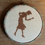Nancy Drew Cross Stitch