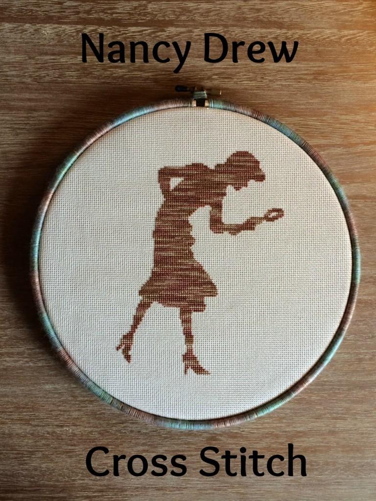 Nancy Drew Cross Stitch