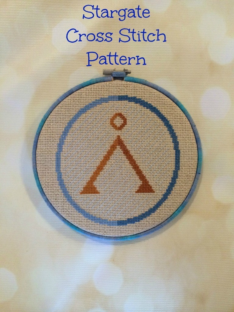 Free Stargate Cross Stitch Pattern