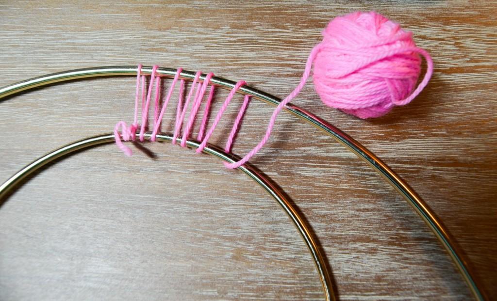 loop the yarn