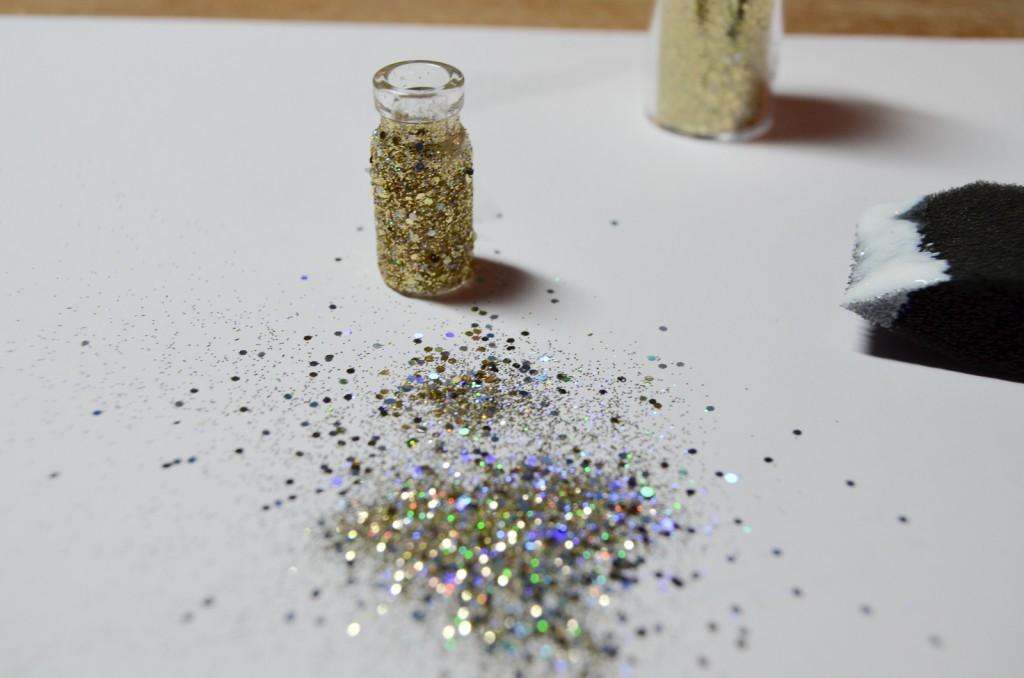 sprinkle glitter