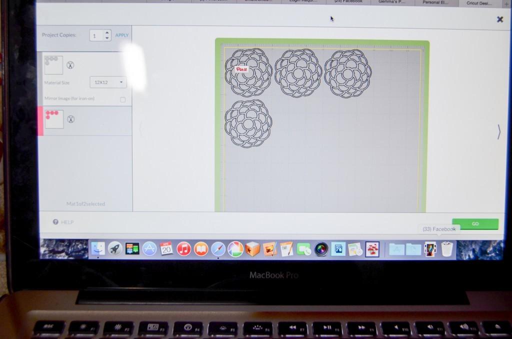 flower in Design Space