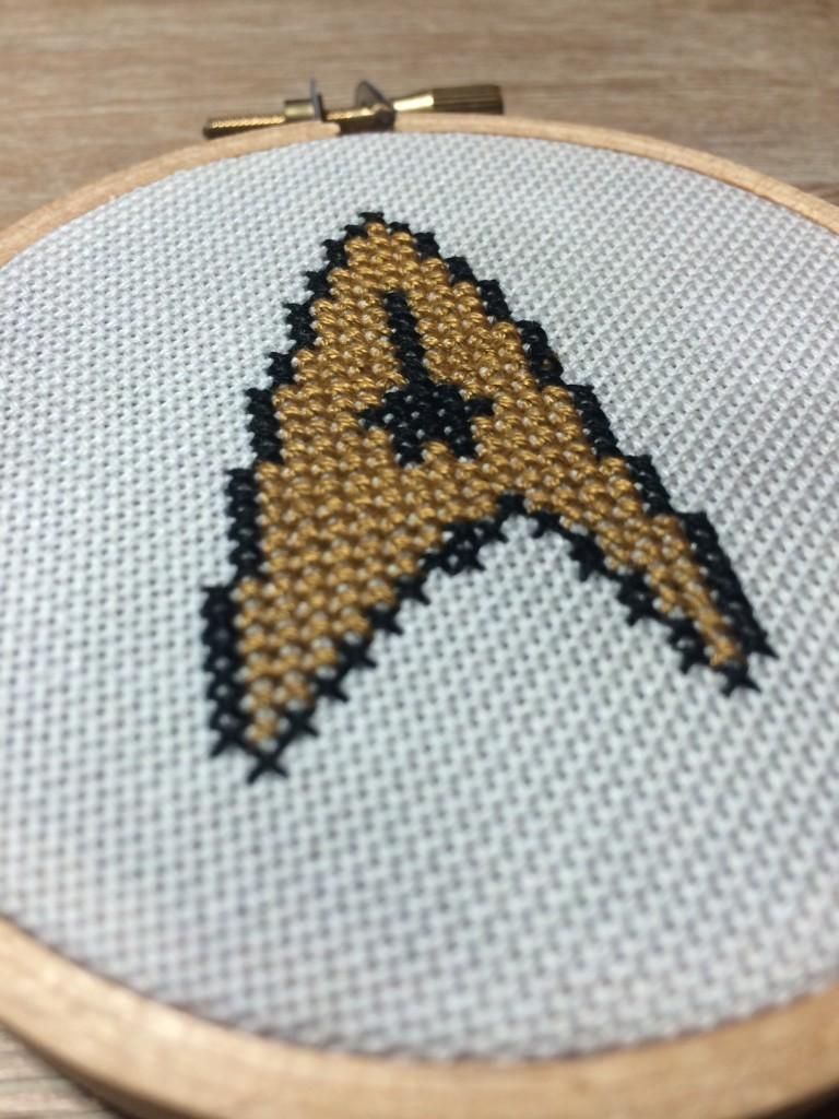 Star Trek Cross Stitch