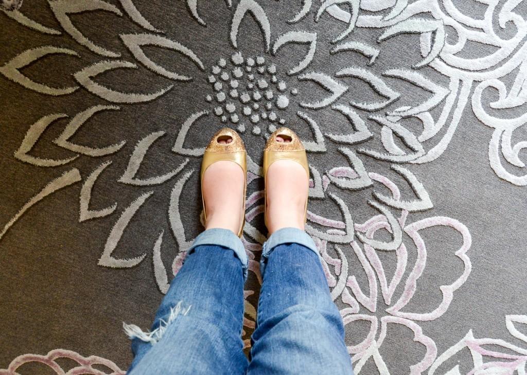 comfortable rug pad